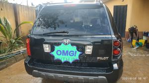 Honda Pilot 2005 EX-L 4x4 (3.5L 6cyl 5A) Black   Cars for sale in Lagos State, Ojodu