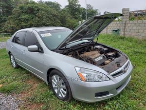 Honda Accord 2007 Sedan EX-L V-6 Automatic Silver | Cars for sale in Abuja (FCT) State, Apo District
