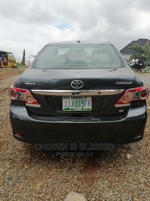 Toyota Corolla 2012 Black | Cars for sale in Abuja (FCT) State, Karu