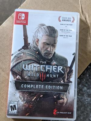 Witcher Wild Hunt | Video Games for sale in Lagos State, Ikeja