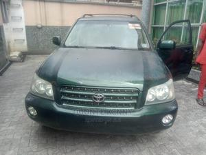 Toyota Highlander 2002 Limited V6 AWD Green   Cars for sale in Lagos State, Amuwo-Odofin