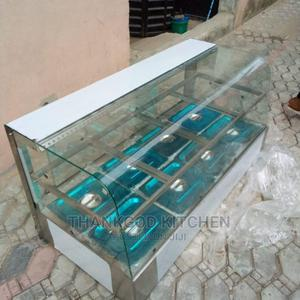 Imported Food Warmer Curve Glass 4 Plates Up and Down | Restaurant & Catering Equipment for sale in Lagos State, Lekki
