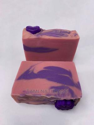 Pink Rose Natural Soap | Bath & Body for sale in Lagos State, Lekki