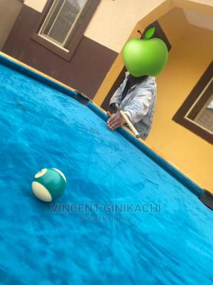 Snooker Board Game, Full Balls, Two Stick   Sports Equipment for sale in Abuja (FCT) State, Lugbe District