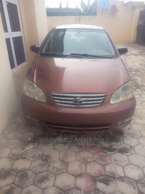 Toyota Corolla 2003 Sedan Automatic Red | Cars for sale in Osun State, Osogbo