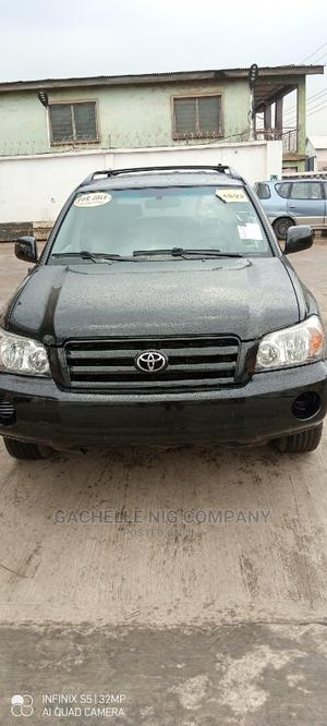 Toyota Highlander 2005 4x4 Black   Cars for sale in Lagos State, Agege