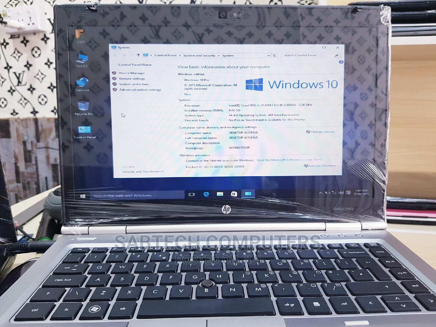 Laptop HP EliteBook 820 4GB Intel Core I5 HDD 500GB | Laptops & Computers for sale in Ojo, Lagos State, Nigeria