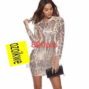 Quality Ladies Simple Short Gown | Clothing for sale in Lagos State, Ikeja
