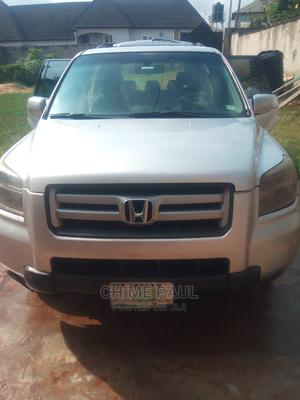 Honda Pilot 2007 EX-L 4x4 (3.5L 6cyl 5A) Silver | Cars for sale in Lagos State, Ikorodu