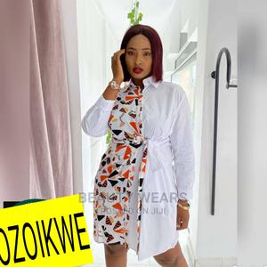 Classic Ladies Shirt Gown | Clothing for sale in Lagos State, Ikeja