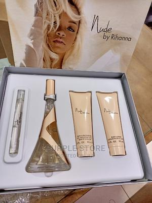 Rihanna Nude EDP 100ml 4-Piece Gift Set for Women   Fragrance for sale in Abuja (FCT) State, Central Business District