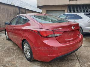 Hyundai Elantra 2014 Red   Cars for sale in Lagos State, Isolo
