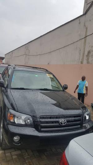 Toyota Highlander 2006 V6 Black | Cars for sale in Lagos State, Alimosho