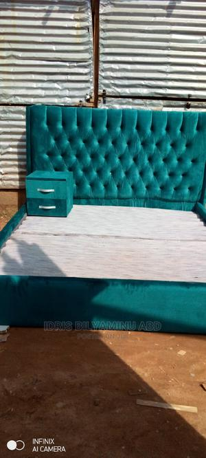 6by6bedframe With One Side Bed | Furniture for sale in Abuja (FCT) State, Lugbe District