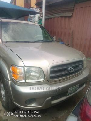 Toyota Sequoia 2004 Gold | Cars for sale in Lagos State, Ejigbo