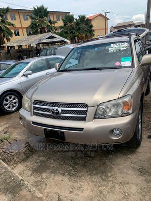 Toyota Highlander 2007 Hybrid 4x4 Gold | Cars for sale in Lagos State, Ikeja