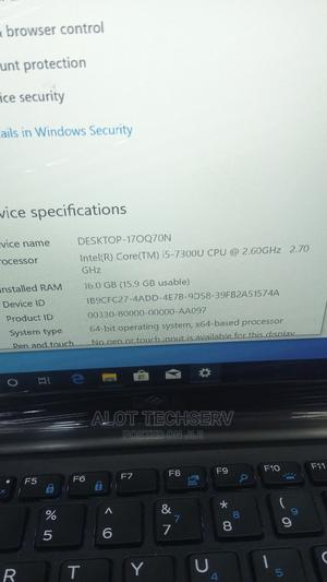 Laptop Dell Latitude 14 7480 16GB Intel Core I5 SSD 256GB | Laptops & Computers for sale in Lagos State, Ikeja