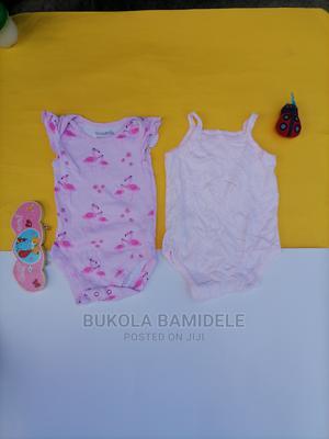 3 to 6 Months Baby Girl Sleeveless Bo | Children's Clothing for sale in Lagos State, Ifako-Ijaiye