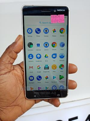 Nokia 6 64 GB Silver | Mobile Phones for sale in Lagos State, Ojodu