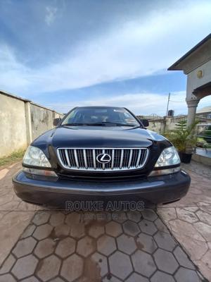 Lexus RX 2002 300 4WD Black | Cars for sale in Ogun State, Ado-Odo/Ota
