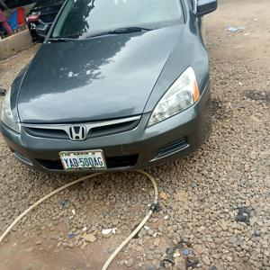Honda Accord 2007 2.0 Comfort Automatic Gray | Cars for sale in Abuja (FCT) State, Gwarinpa
