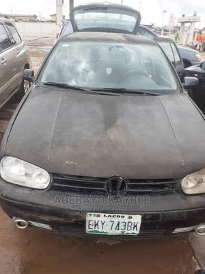 Volkswagen Golf 2002 2.0 GL 3-Door Black | Cars for sale in Ogun State, Ifo