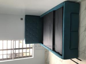 Upholstered Bed Frame | Furniture for sale in Lagos State, Ogudu
