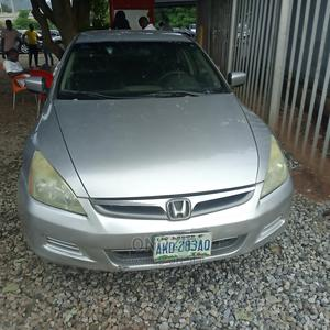 Honda Accord 2007 2.0 Comfort Automatic Silver | Cars for sale in Abuja (FCT) State, Gwarinpa