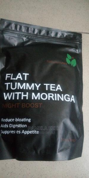 Flat Tummy Tea With Moringa -28 Tea Bags | Vitamins & Supplements for sale in Rivers State, Obio-Akpor