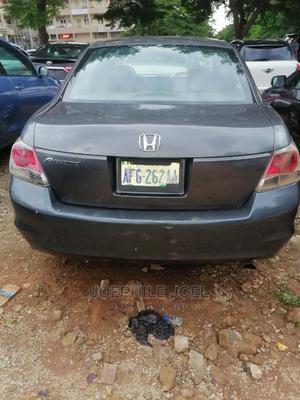 Honda Accord 2008 2.4 EX Automatic Gray   Cars for sale in Abuja (FCT) State, Utako