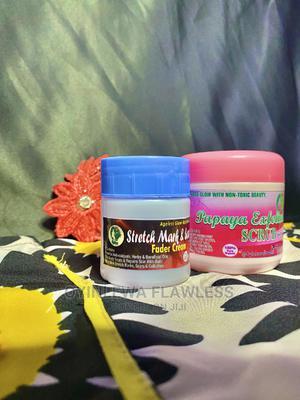 2 In 1 Stretch Mark Fader Kit | Skin Care for sale in Lagos State, Alimosho