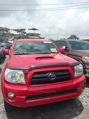 Toyota Tacoma 2008 4x4 Double Cab Red | Cars for sale in Lagos State, Apapa