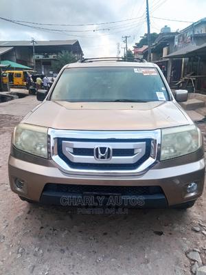 Honda Pilot 2011 Gold | Cars for sale in Lagos State, Mushin