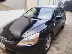 Honda Accord 2003 2.4 Black | Cars for sale in Lagos State, Agboyi/Ketu