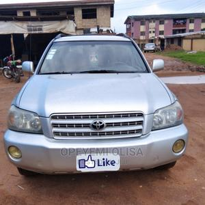 Toyota Highlander 2003 V6 FWD Silver   Cars for sale in Oyo State, Ibadan