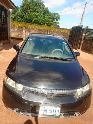 Honda Civic 2007 1.8i-Vtec EXi Black   Cars for sale in Edo State, Benin City