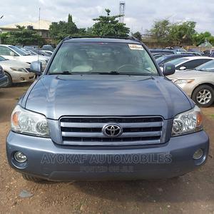 Toyota Highlander 2006 V6 Gray | Cars for sale in Lagos State, Ogudu