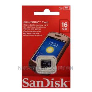 Sandisk 16GB Memory Card | Accessories for Mobile Phones & Tablets for sale in Imo State, Owerri