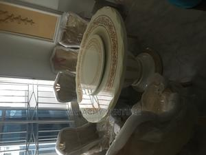 Marble Round Royal Dining Table by 6 | Furniture for sale in Lagos State, Alimosho