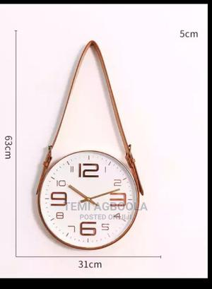 Wall Clock With Belt | Arts & Crafts for sale in Lagos State, Ikeja