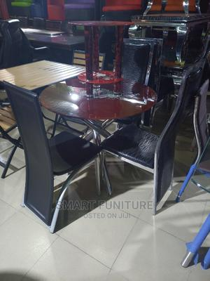 Best Quality Round Glass Dining Table   Furniture for sale in Lagos State, Lekki
