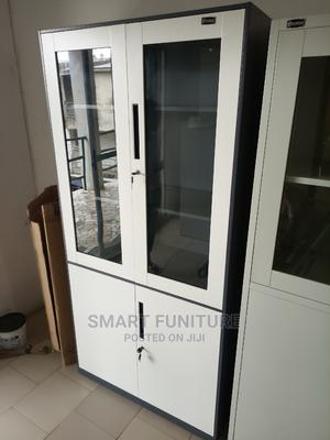 Best Quality Half Glass Metal Cabinet | Furniture for sale in Lagos State, Lekki