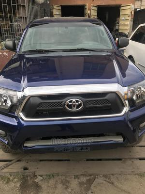 Toyota Tacoma 2016 4dr Double Cab Blue | Cars for sale in Lagos State, Apapa