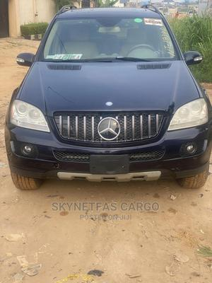 Mercedes-Benz M Class 2007 ML 350 4Matic Blue | Cars for sale in Lagos State, Isolo
