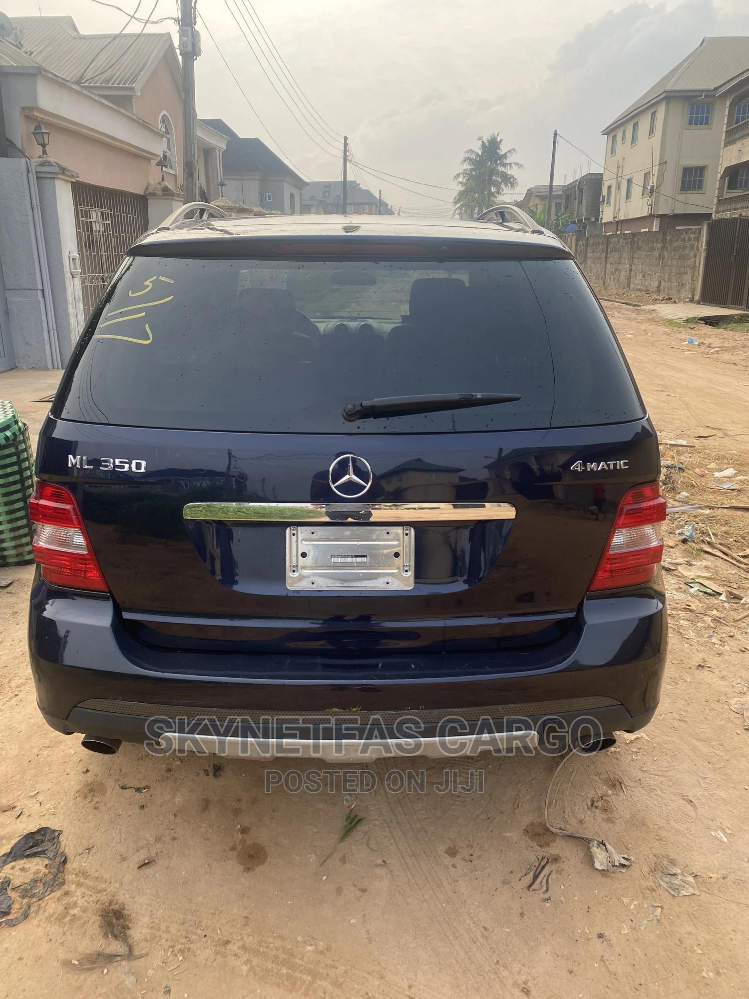 Mercedes-Benz M Class 2007 ML 350 4Matic Blue | Cars for sale in Isolo, Lagos State, Nigeria