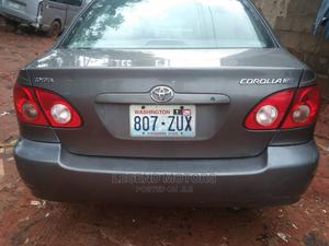 Toyota Corolla 2004 1.4 D Automatic Gray   Cars for sale in Lagos State, Alimosho