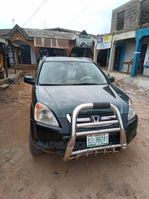 Honda CR-V 2004 EX 4WD Automatic Green   Cars for sale in Ogun State, Ifo