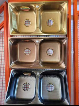 Double Bowls Italian Kitchen Sink | Plumbing & Water Supply for sale in Abuja (FCT) State, Gwarinpa