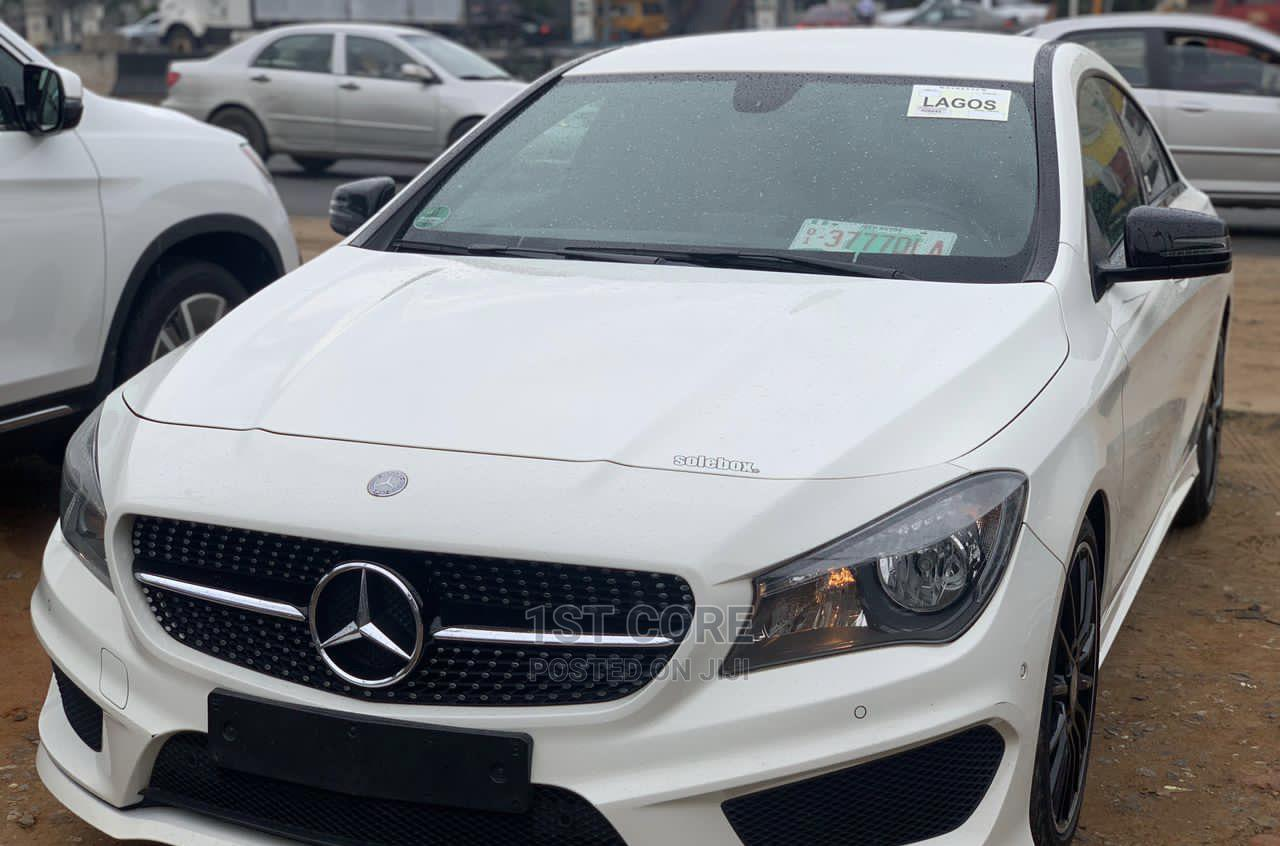 Mercedes-Benz CLA-Class 2014 White   Cars for sale in Ikeja, Lagos State, Nigeria