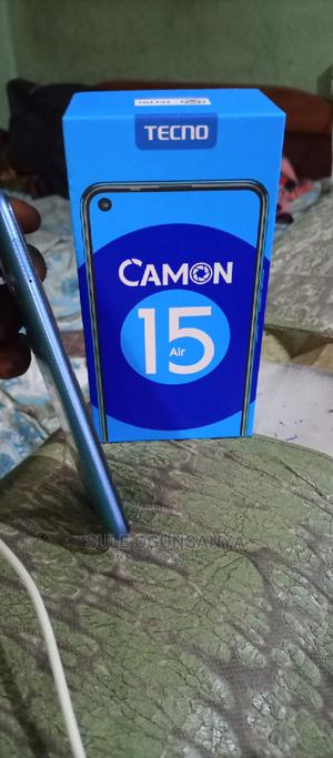 Tecno Camon 15 Air 64 GB Blue | Mobile Phones for sale in Lagos State, Ajah